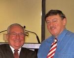 Captain David Williams and Captain Paul Miller at recent safety seminar.